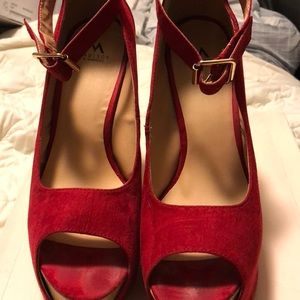 Red Patty Shoedazzle shoe